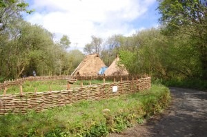Reconstruction of Neolithic houses
