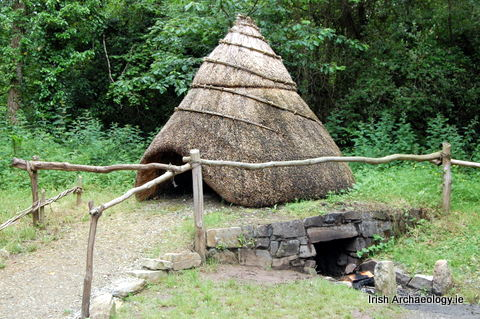 Reconstructed corn-drying  kiln