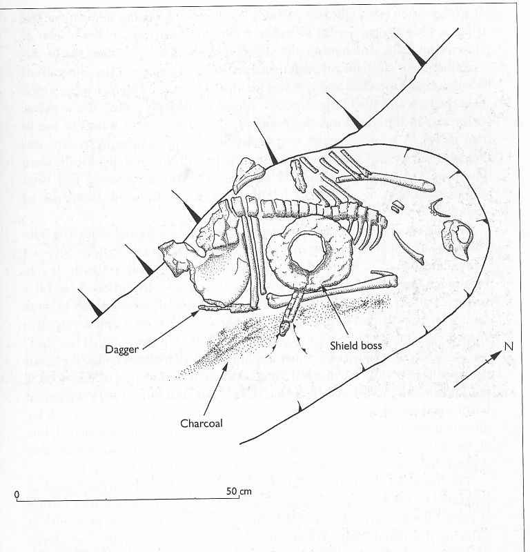 Truncated burial from Georges Street, Medieval Dublin VI, p.39