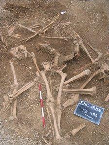 Viking burials