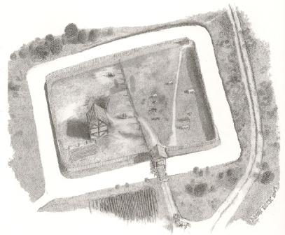 Moated Sites Defended Homesteads Of The 13th And 14th Centuries
