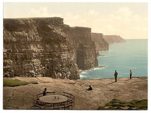 The cliffs of Moher, Co. Clare