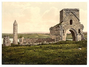 Devinish island monastic site