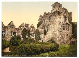 Donegal castle, old photo