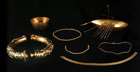The gold Broighter hoard