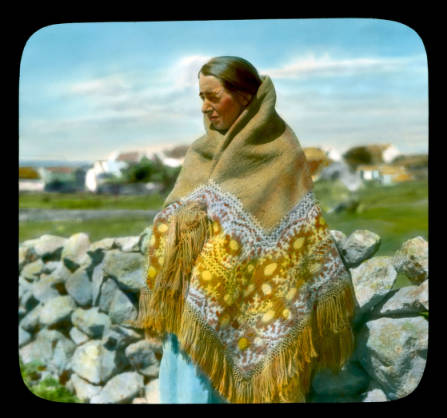 Connemara woman
