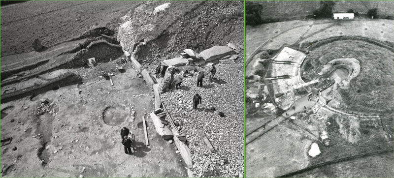newgrange excavation