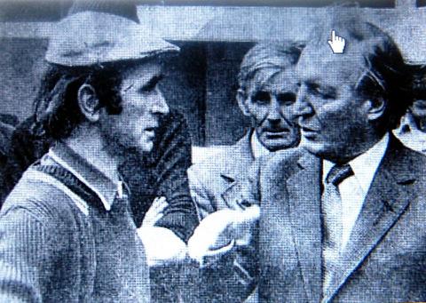 The man who found the macehead, Mr Liam O'Connor