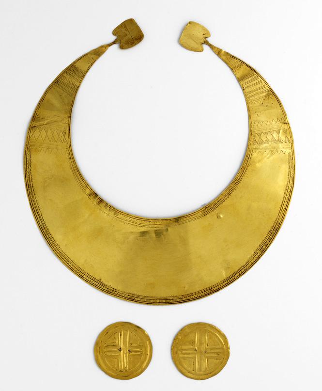 Gold Lunula, Discs