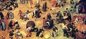 Pieter Brughel's Children's Games