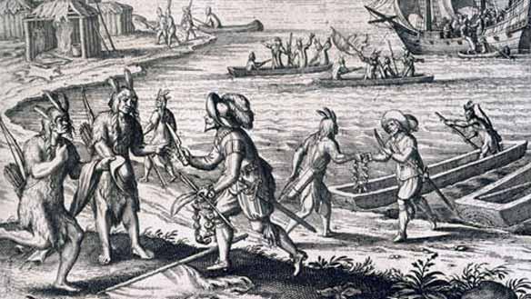 Trinity Bay, Newfoundland, 1612.