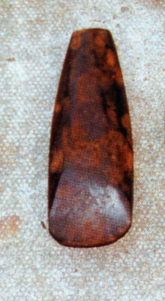 Axe from cremation burial 1 (Collins & Coyne 2003)