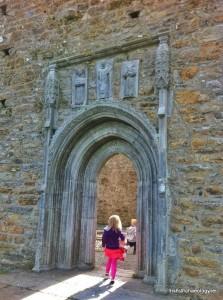 Clonmacnoise gothic door