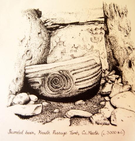 Knowth basin