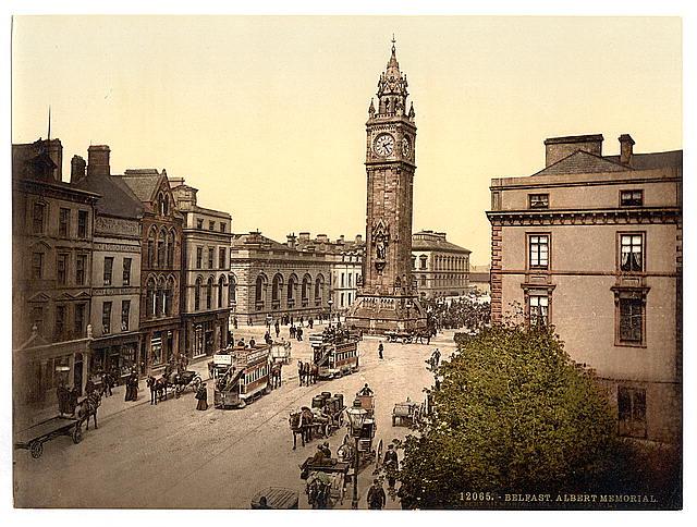 Albert Memorial. Belfast. County Antrim, Ireland