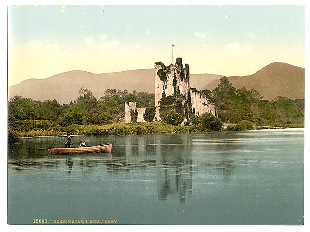 Ross Castle, Killarney. County Kerry, Ireland
