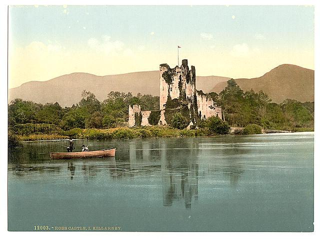 Ross Castle, Killarney. County Kerry, Ireland