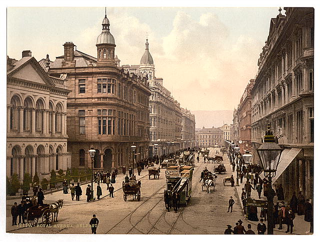Royal Avenue, Belfast. County Antrim, Ireland