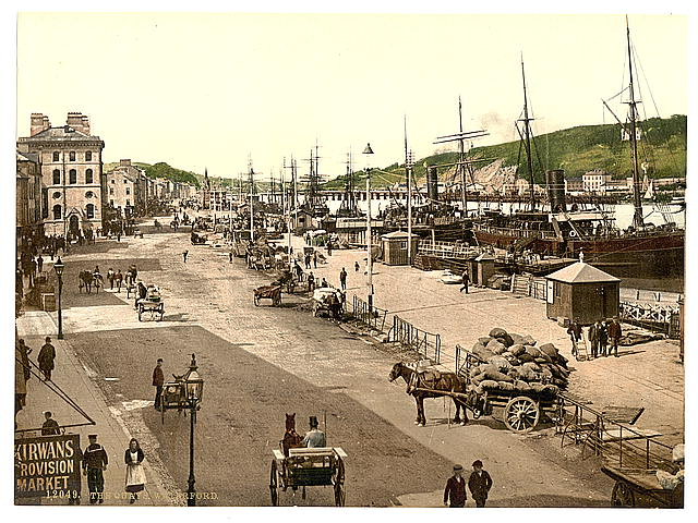 The Quays, Waterford. County Waterford, Ireland