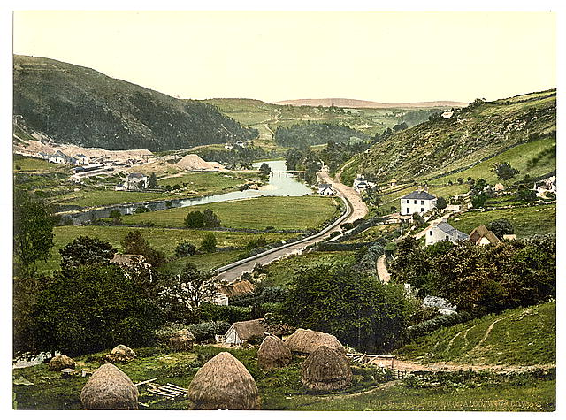 Vale of Avoca. County Wicklow