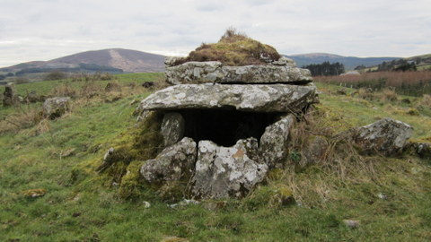 Baurnadomeeny wedge tomb, Tipperary