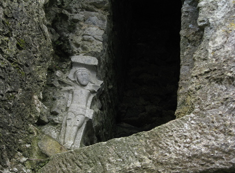 High medieval crucifix, Ross Errilly Friary, Galway