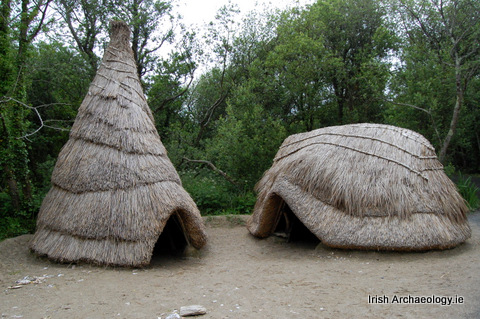 Meolithic huts