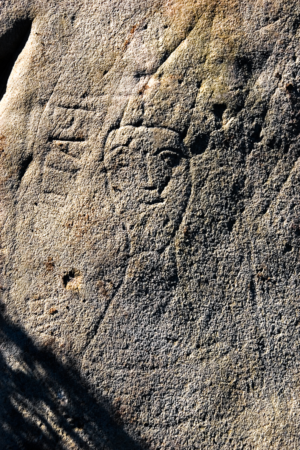 Rock art at Strath, Inishowen, Co. Donegal