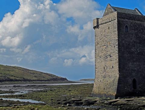 Rockfleet Castle, Achill Island