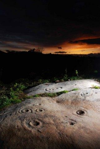 prehistoric rock art donegal