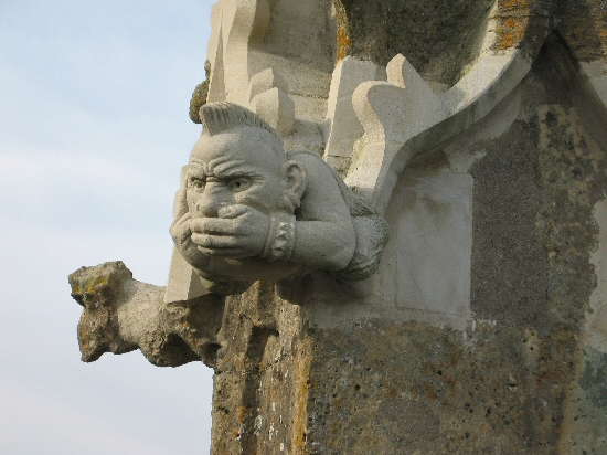 Punk grotesque tower pinnacle small