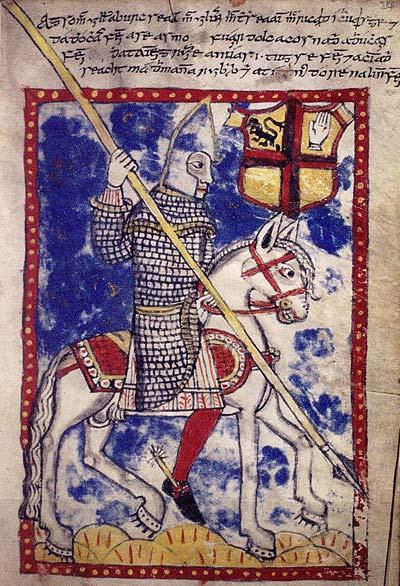 16th century Irish horseman