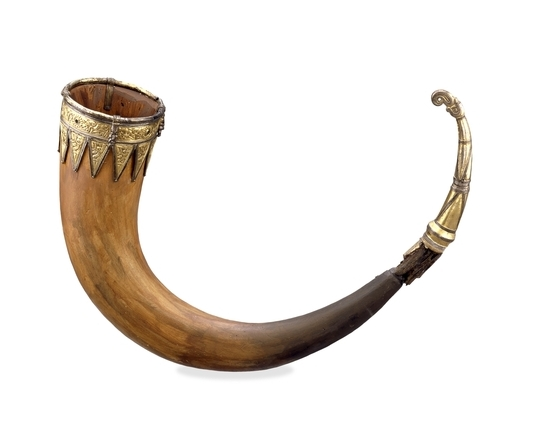 Anglo Saxon drinking horn (2)