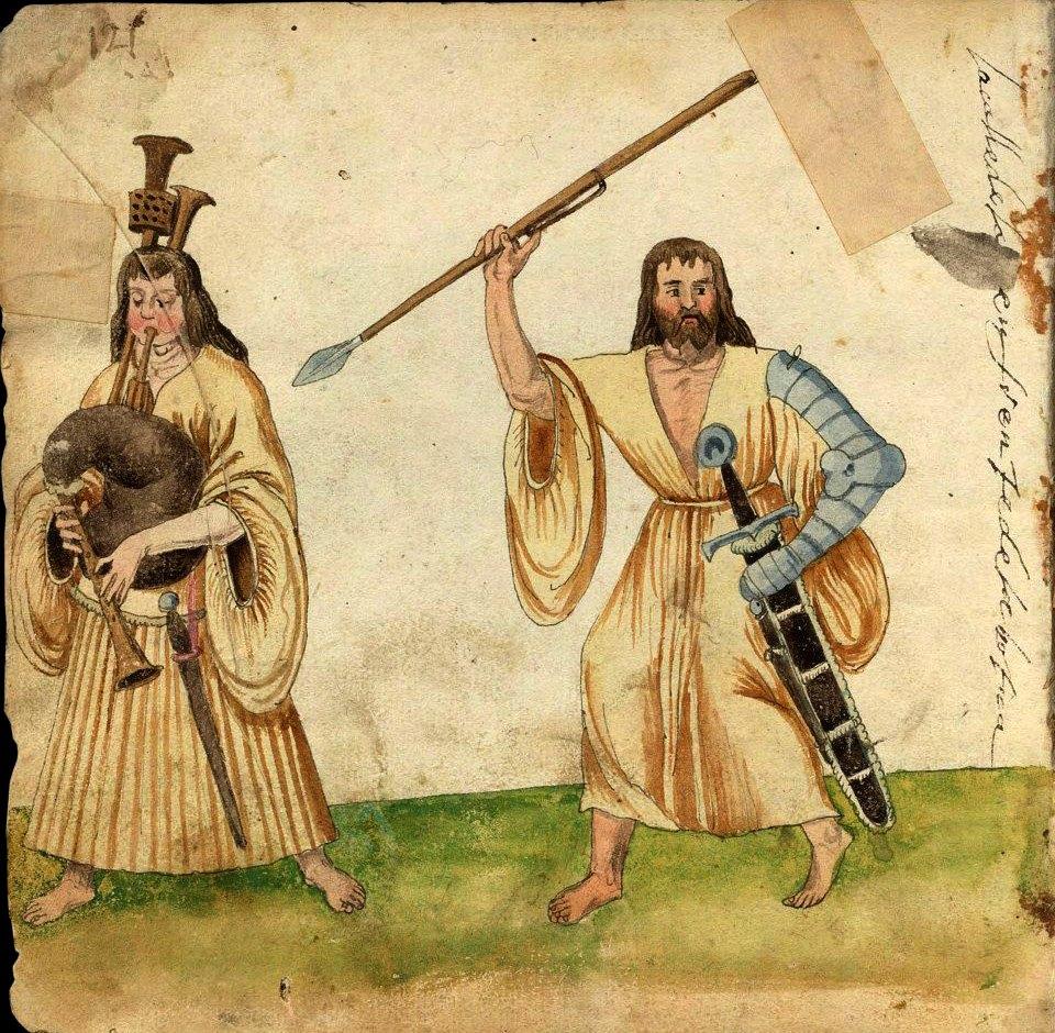 16th century images of Irish people | Irish Archaeology