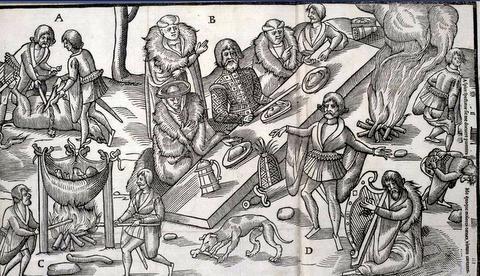 Medieval Irish feast-001