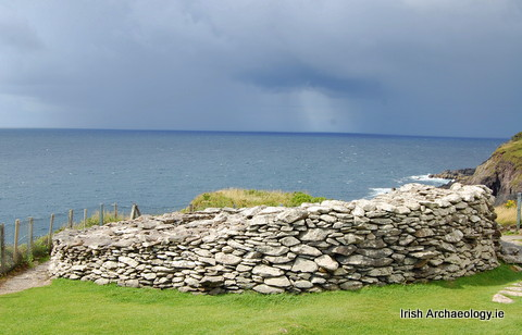 ancient Irish house