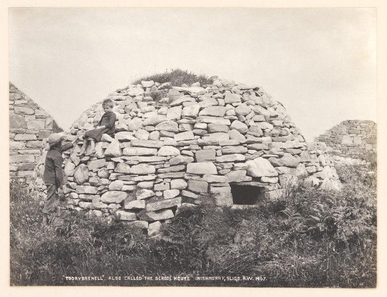 Early Christian Clochán, Inishmurry Island, Co. Sligo
