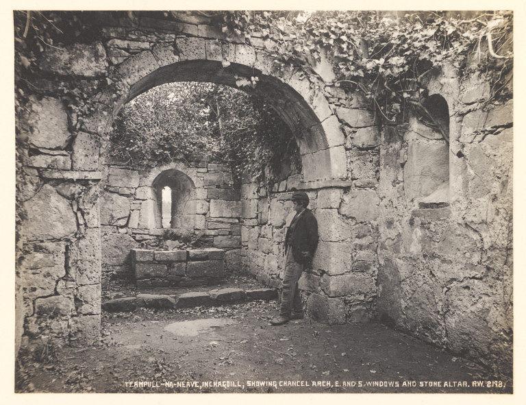 Inchagoill, church