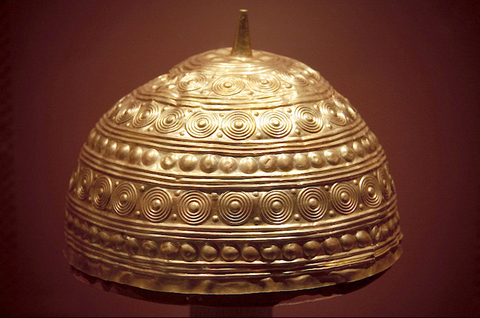 Gold hat/vessel, Loira, Spain