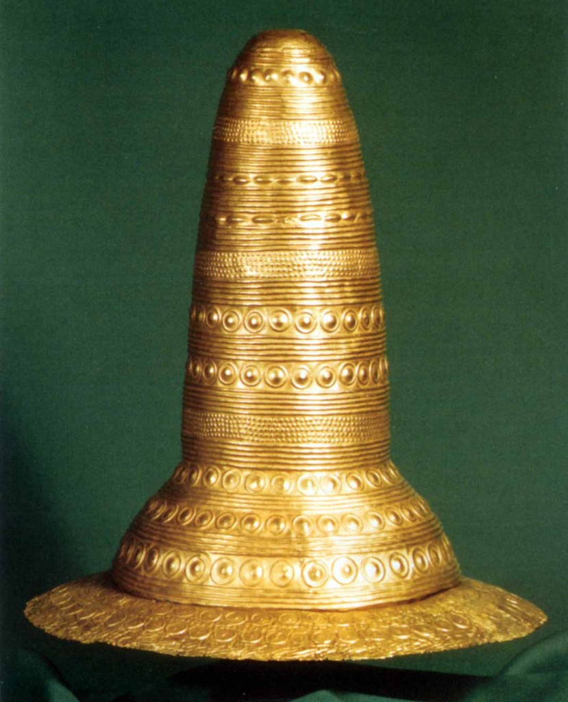 The Schifferstadt conical gold 'hat' from Germany