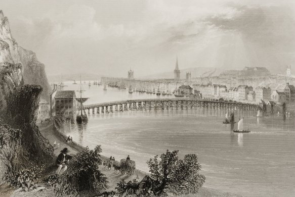 19th century Waterford city