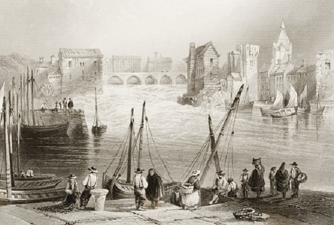 19th century image of Galway
