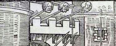 Impaled heads, Ireland (after  John Derricke 1581)