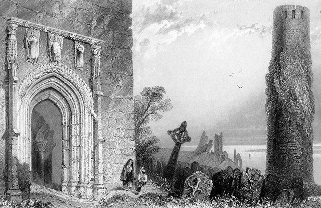 Clonmacnoise 19th century