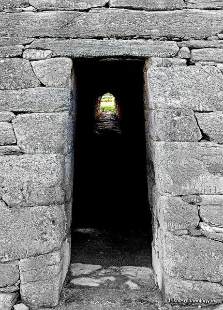 ancient church door ireland
