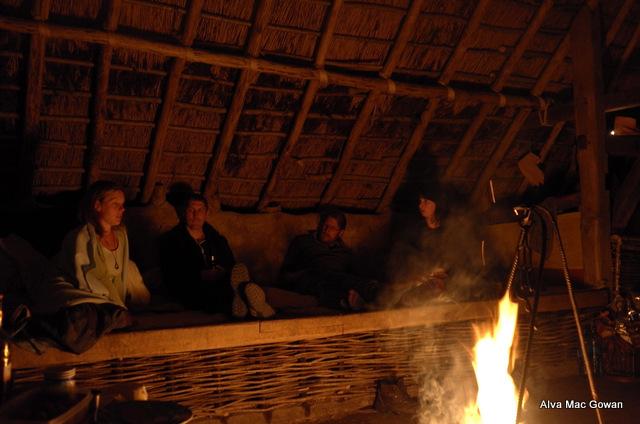 Inside Viking house 1