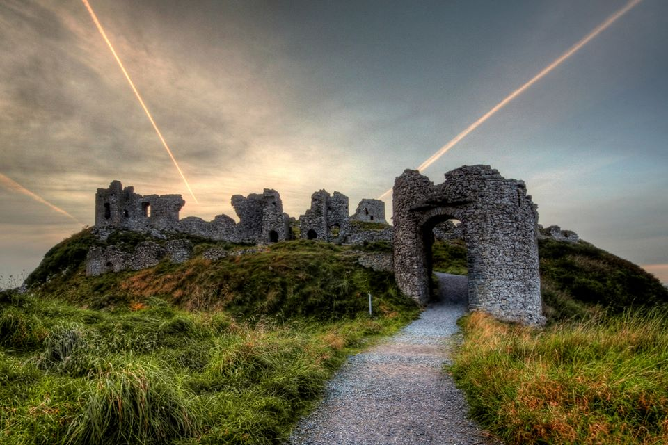Last year's winning entry by Paddy Brennan, 'Rock of Dunamase, Co. Laois'.