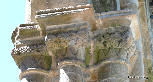 Medieval capital boyle abbey 10
