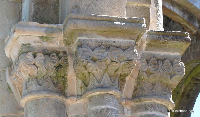 Medieval capital boyle abbey 6