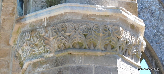 Medieval capital boyle abbey 7